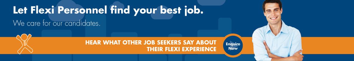 Job Seeker - Let Flexi personnel find your best job