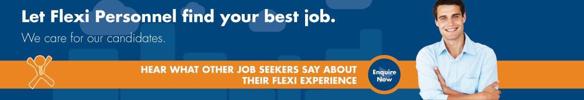Job Seeker - Let Flexi personnel find your best job